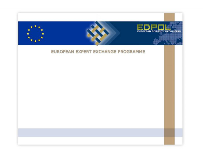 PowerPoint presentation template, Ed-Pol