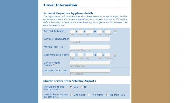 Ed-Pol International Conference Registration Form, part 2